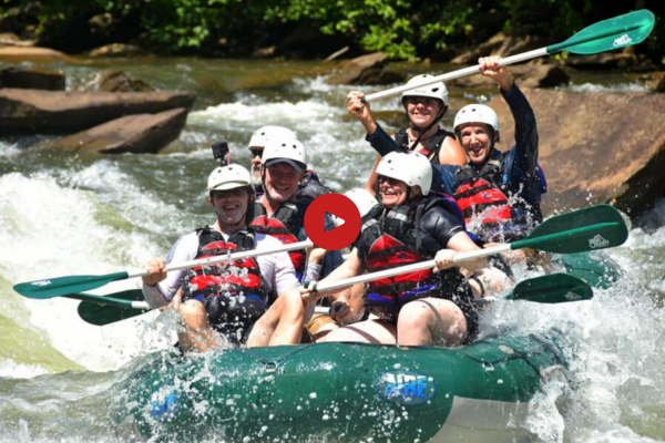 white water rafting ocoee river tennessee back2basics outdoor ministries
