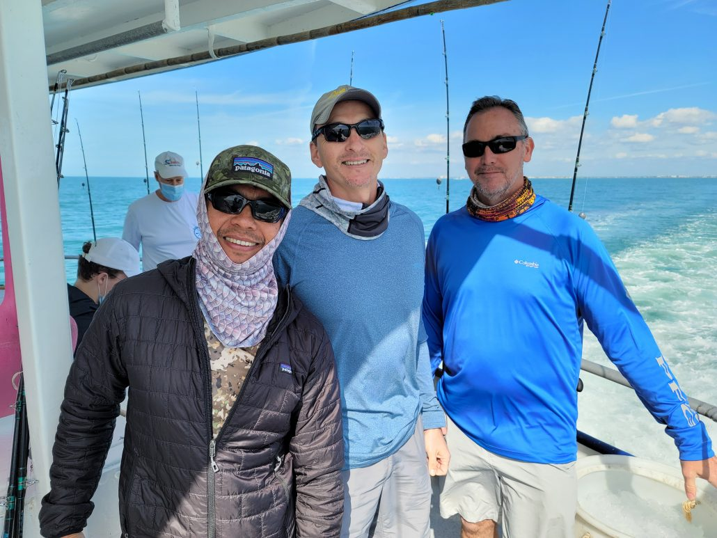 deep sea fishing, back2basics outdoor ministries, clearwater, tampa, st petersburg